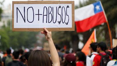 Efecto del estallido social: FMI proyecta crecimiento de 1,2 por ciento para Chile en 2020