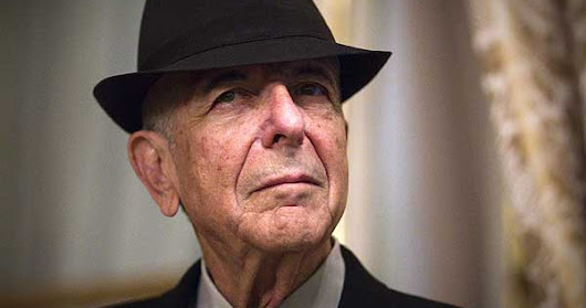 So long, Leonard Cohen