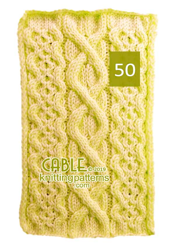 Cable Knitting Pattern 52