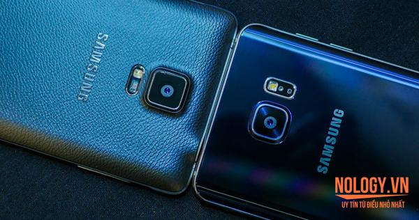 Samsung Note 5 cũ và Note 4 cũ đẹp