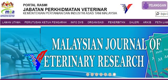 Rasmi - Jawatan Kosong (JPV) Jabatan Perkhidmatan Veterinar 2019