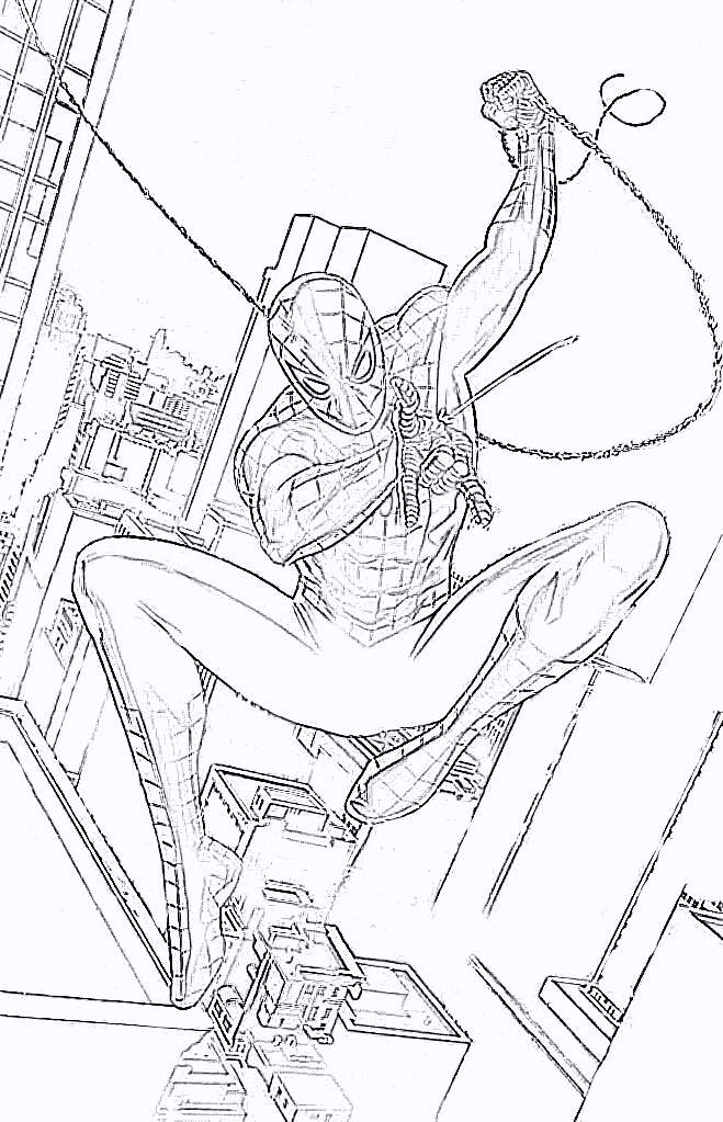 The amazing spider man coloring pages for Amazing spiderman coloring pages