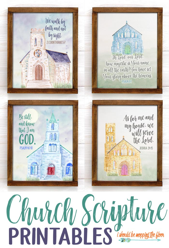 Church Scripture Printables