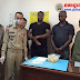 Two Nigerians arrested at Cambodia Airport with drugs in their stomachs appear in court