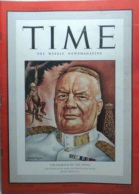 Time magazine cover featuring ter Poorten, 26 January 1942 worldwartwo.filminspector.com