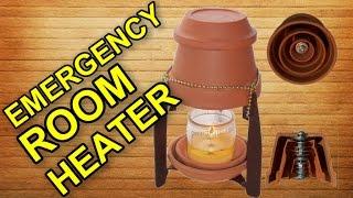 Як зігрітись в кімнаті за допомогою свічок?