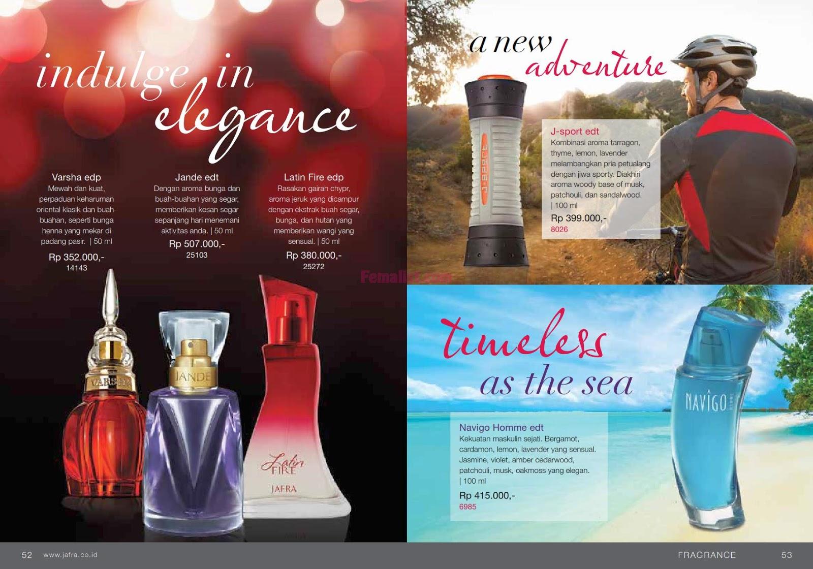 Katalog 172 Harga Produk Jafra Kosmetik Skin Care Indonesia 2018 Gentleman Edt 100ml Parfum