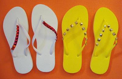 havaianas customizadas para o carnaval