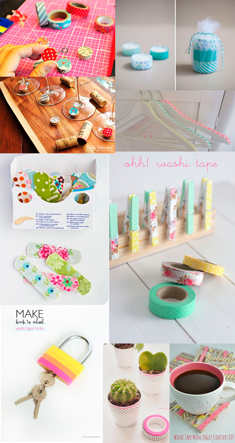 Ideias de Decoração com Washi Tape