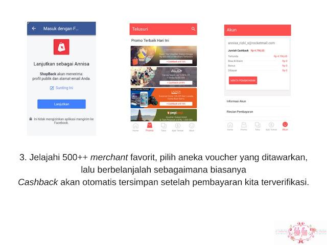 cara menggunakan aplikasi shopback2