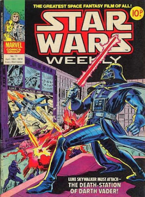 Star Wars Weekly #11, Darth Vader