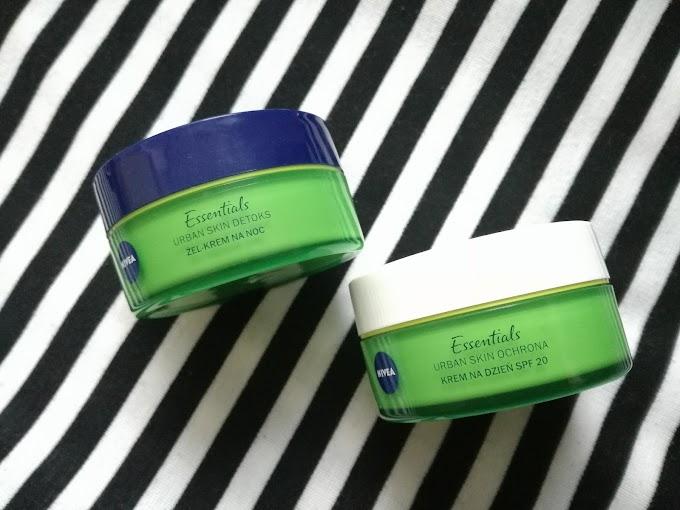 NIVEA Urban Skin - kwas hialuronowy, antyoksydanty i bio zielona herbata