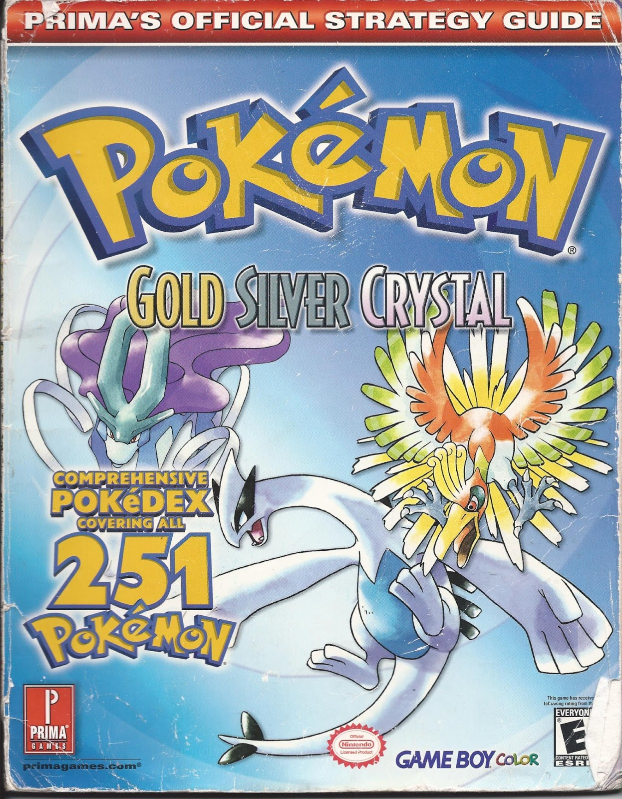 Pokemon Gold Guide Book