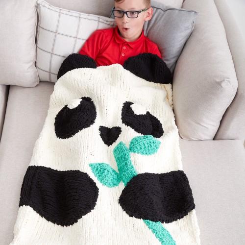 Panda Bear Snuggle Sack - Free Pattern