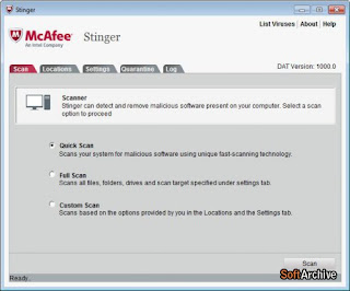 McAfee Stinger v12.1.0.2136 FREE Download
