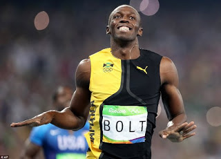 Another gold for usain bolt at rio 2016