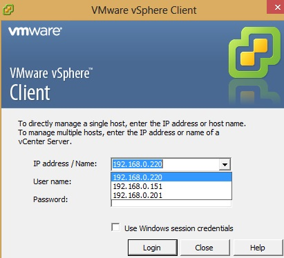 IT Professional: VMWare VSphere Client : How to remove