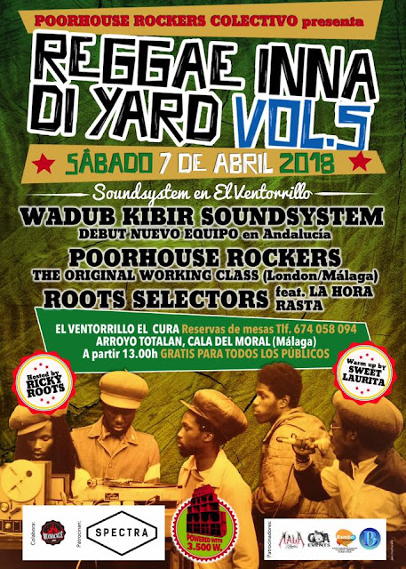 Festival Reggae Inna Di Yard en Málaga