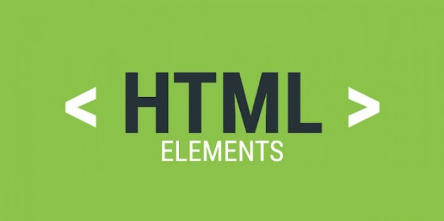 elements of html