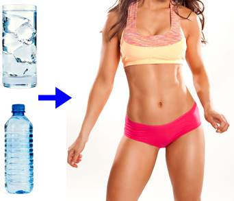 El agua te ayuda a perder grasa sin disminuir la calidad de tus músculos
