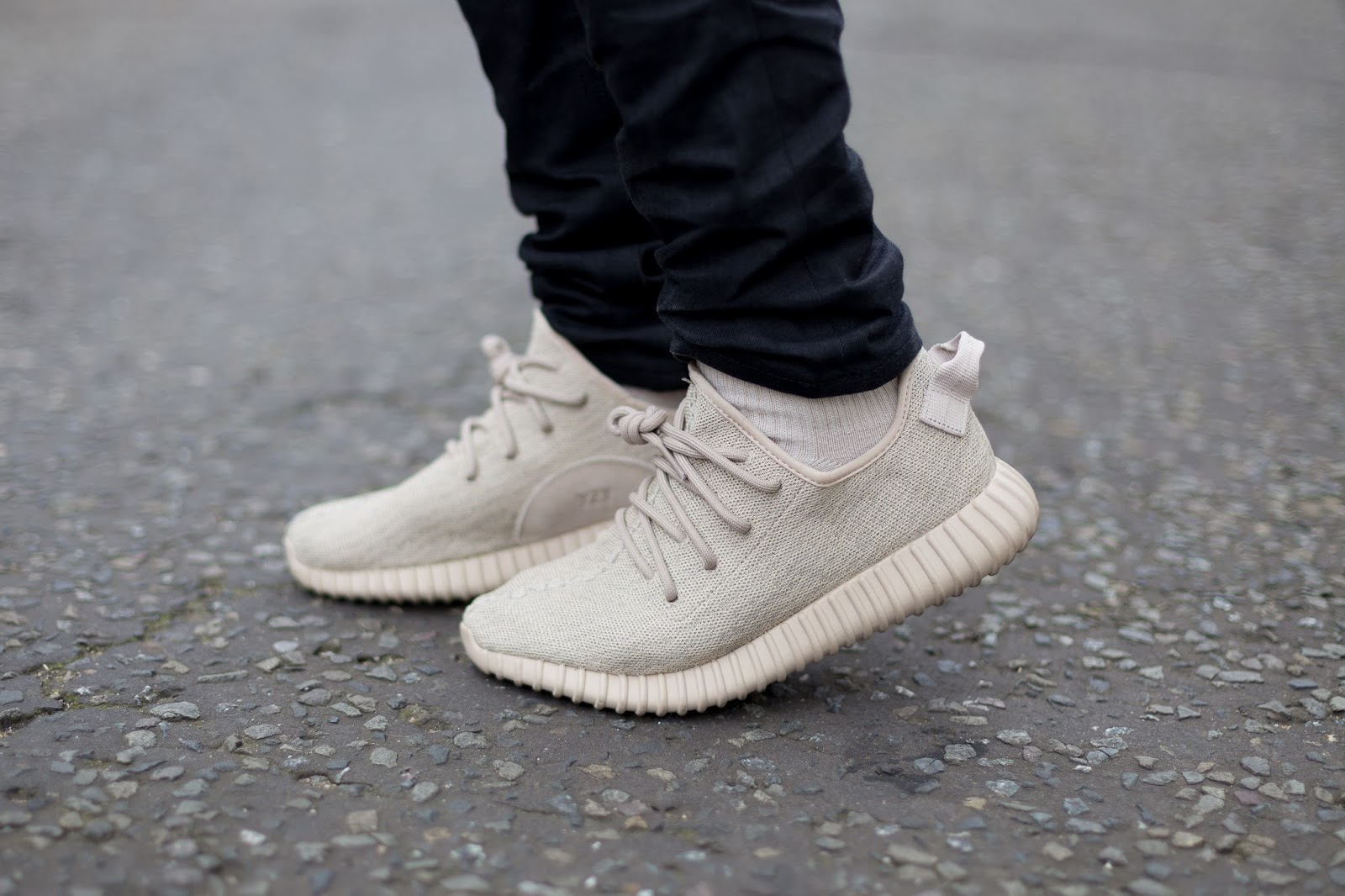 Yeezy Boost 350 Oxford Tan On Feet