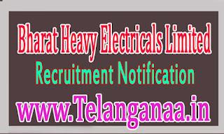 Bharat Heavy Electricals Limited (BHEL) Recruitment Notification 2016