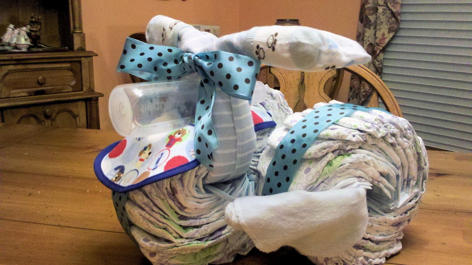 Random Bits Of Goodness Craft A Week 10 Diaper Tricycle