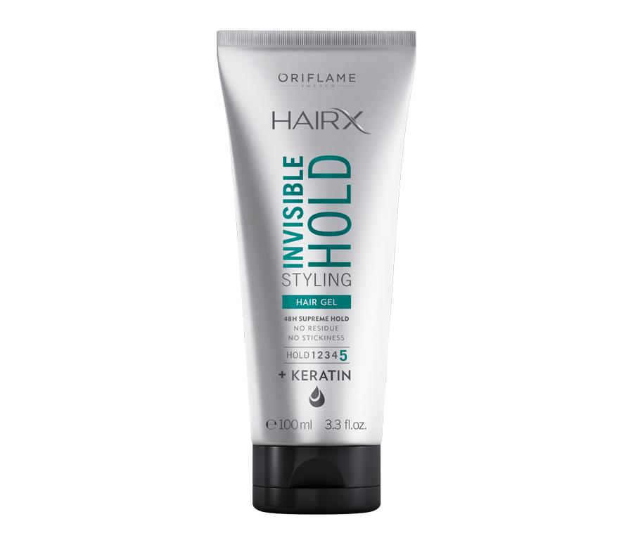 Gel Styling Fixação Invisível HairX da Oriflame