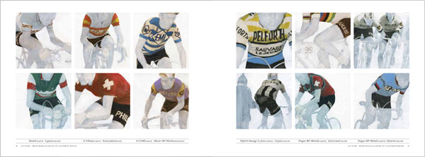 Le Tour cycling book produced by Rapha