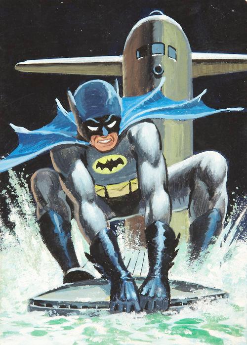 batman 1966 saunders cards trading norman 1960s card submarine comicsalliance dork amazing robin gawkerassets gemerkt von