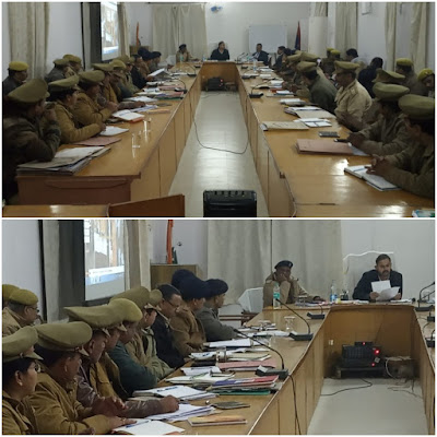 District Judge Addressed Police Officers Uttar Pradesh