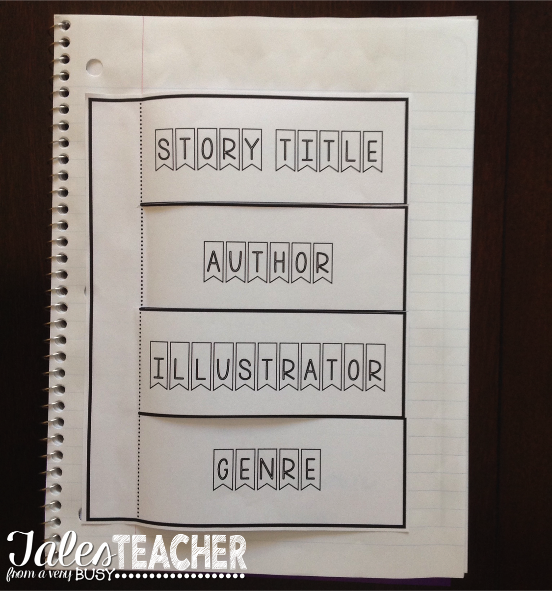 Winner Wednesday Ela Literature Interactive Notebook Grades 1 Through 3 Tales From A Very