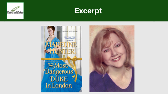 Excerpt: The Most Dangerous Duke in London by Madeline Hunter