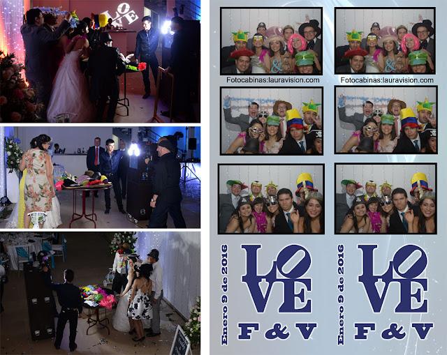 fotocabinas para bodas en Cota Santa Elena