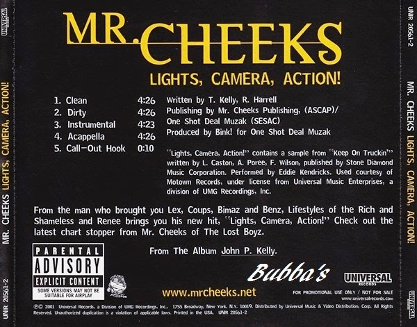 Mr Cheeks Lights Camera Action