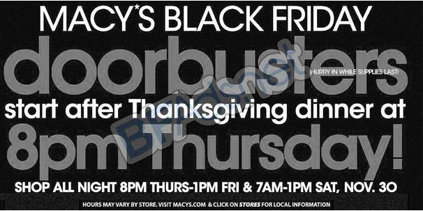 extreme couponing mommy macy 39 s black friday ad leaked. Black Bedroom Furniture Sets. Home Design Ideas