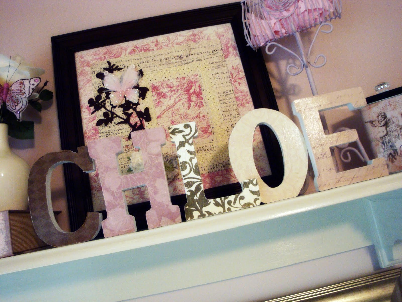 The Penny Parlor: DIY Nursery Letters
