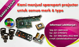 jual spare part lcd projector