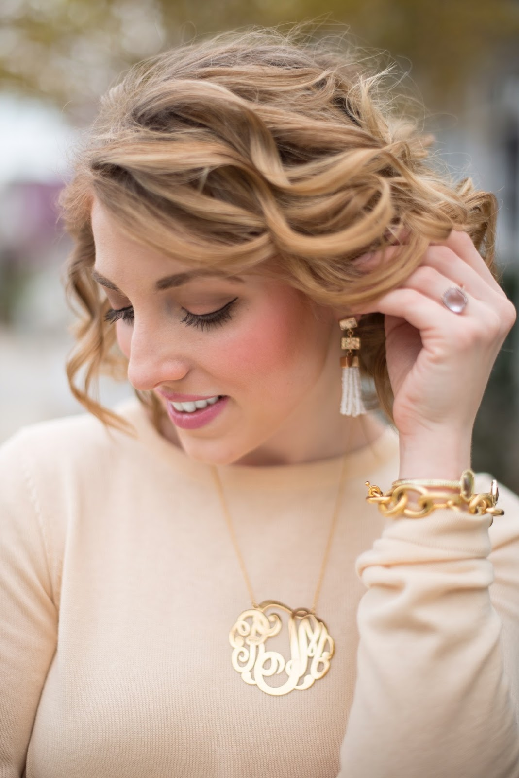 Extra-Large Monogram Necklace