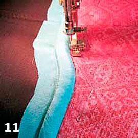Шьем сумку из жаккардовой ткани