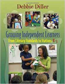 https://www.amazon.com/Growing-Independent-Learners-Literacy-Standards/dp/1571109129/ref=sr_1_1?s=books&ie=UTF8&qid=1468691849&sr=1-1&keywords=debbie+diller