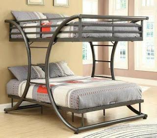 camas dobles de hierro diseño