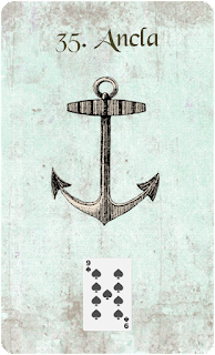 carta de lenormand 35 ancla
