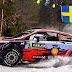 WRC: Neuville encabeza el shakedown de Suecia