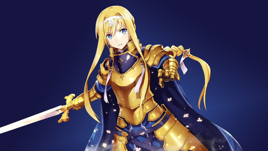 Alice, Sword Art Online Alicization, 4K, #4.1903