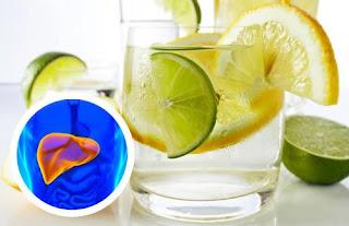 Traitement de l'hépatomégalie au du jus de citron