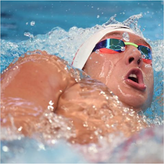 One of the nine 2016 Team USA Olympic medalists competing in the 2017 NCAA swimming championships