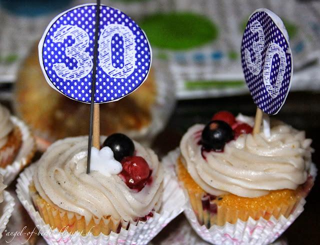 Himbeer Mascarpone Cupcakes