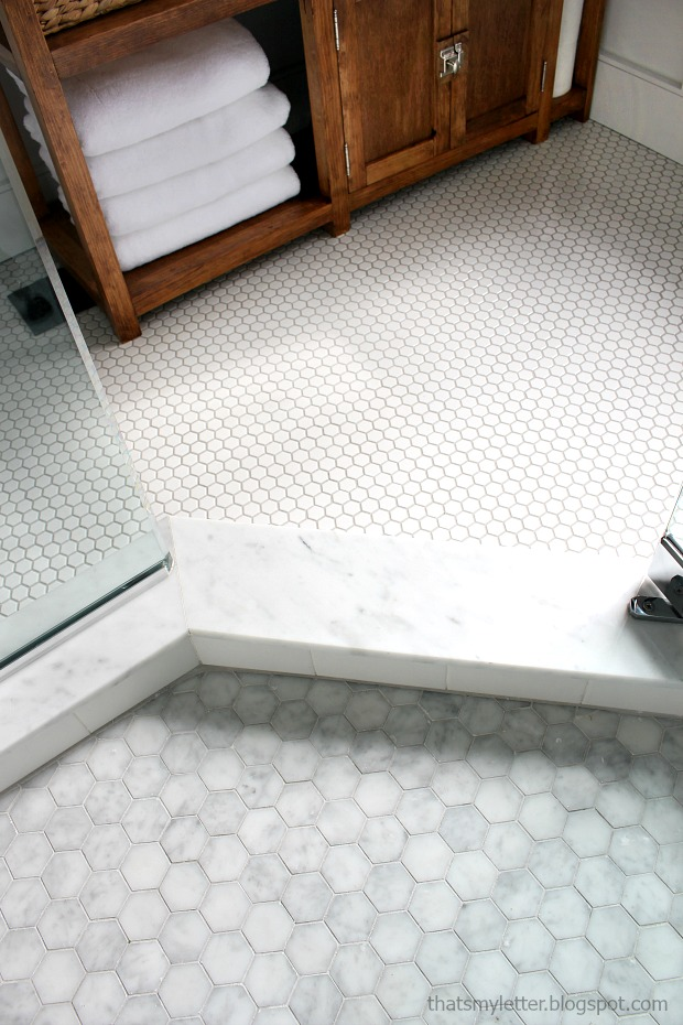 hexagon floor tile
